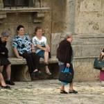 """""""old ladies in plaza"""" by georgekaplanimages"""