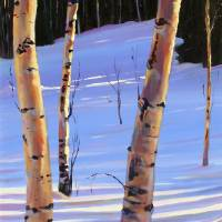 Annie's Aspens Art Prints & Posters by Zack Thurmond