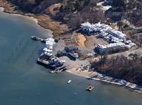 Ryder's Cove Boat Yard Aerial Photo