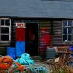 """Fishermans Hut Lindisfarne 1"" by kenart"