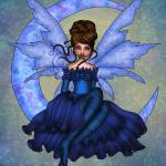 """Faery Moon 2"" by artsychicstudio"