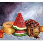 """""""Lucious Fruit Painting"""" by SherryHolderHunt"""