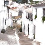 """Typical Spanish Street"" by biglnet"