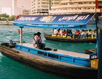 Dubai Taxi and Boat People