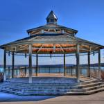 """Gazebo on Canandaigua Lake"" by emesphoto"