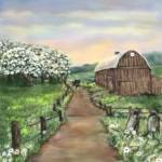 """Amish Apple Blossoms"" by AveHurley"