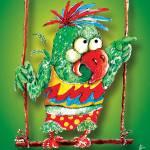 """Green Parrot"" by natasa_kostovska"