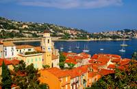 Harbor scene on the French Riviera