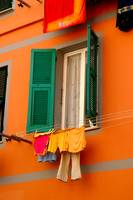 Charming window of Italy