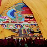 """Thanka ceremony,Labrang,China"" by Haiqi"