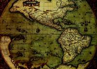 Antique Old World Map Circa 16th Century
