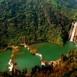 """""""waterfall ,Yunnan china"""" by Haiqi"""