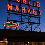 """Pike Place Market, Seattle"" by salmonbay"