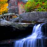 """Glade Creek Mill"" by ronjonesphotography"