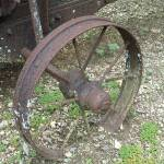 """Wagon Wheel"" by georgegadsonstudios"