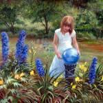 """""""Blue Gaze"""" by mariewitte"""