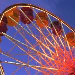 """""""Santa Monica Ferris Wheel"""" by Kenneth"""