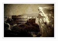 An angel over Rome