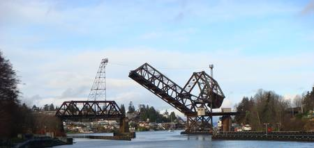 Drawbridge: Ballard Locks