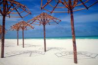 Cuban Beach Umbrellas