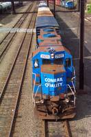 An old Conrail GP 38 2920 workhorse still on Duty
