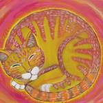 """Circle Cat"" by Tessimal"