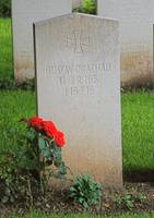 German headstone at Heilly cemetery