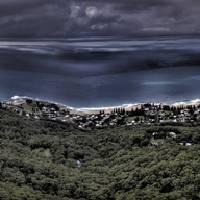 Sublime Point Lookout HDR Panorama Art Prints & Posters by Alexander Kesselaar