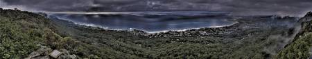 Sublime Point Lookout HDR Panorama