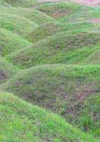 Battlefield  trenches