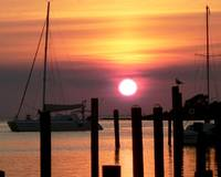 Ocracoke Island Sunset