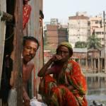 """""""Devant une maison dans le Slam (Dhaka)"""" by drutelp"""