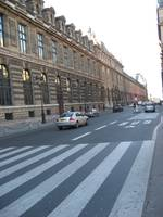 Street outside the Louvre