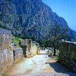 """The Sacred Way in Springtime, Delphi, Greece 2003"" by PriscillaTurner"