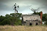 abandoned - rural decay landscape