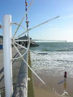 Bournemouth pier on an autumn day