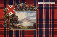 MacFarlane (Raphael Tuck Scottish Clan Postcard)
