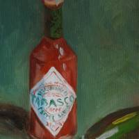 Hot Sauce Art Prints & Posters by MaryAnn Cleary