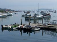 Boats at Stonington Harbor