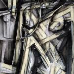 """Drawing Synthetic Cubist Nude b191"" by mrddixon"