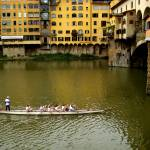 """rowing at PonteVecchio"" by DAllen"