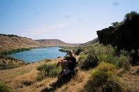 Me Enjoying the Snake river