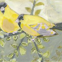"""Two Goldfinch"" by JENLO"