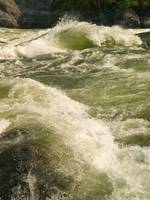 The river left wave at Granite Rapid on the Snake
