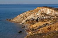 Aquinnah Cliffs at Sunset