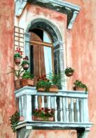 Balcony in Venice