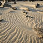 """Ripples in beach sand"" by ScenicNH"
