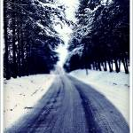 """Winter Road"" by KatieMaePhotography"