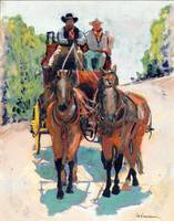 Stagecoach by RD Riccoboni