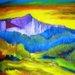 """2007_06170003Southwest Sunrise"" by cjluciaart"